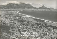 Aerial view of the Cape Town region, Cape Town