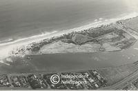 Aerial view of Woodbridge Island in Milnerton, Cape Town
