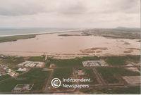 Aerial view of Milnerton's Rietvlei, Cape Town