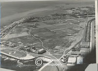 Aerial view of Moullie Point, Cape Town