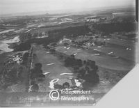 Aerial view of Mowbray Golf Course, Cape Town