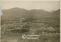 Aerial view of Mowbray, Cape Town
