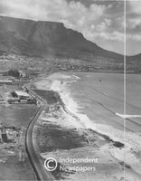 Aerial view of Paarden Island, Cape Town