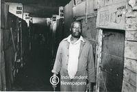 Apartheid-era company housing for workers in Guguletu, Cape Town