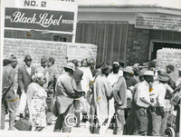 After Transkeian 'independence' Xhosa residents of Langa, Cape Town, become 'foreigners' in South Africa