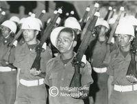Apartheid-era Cape Corps soldier, Cape Show, Cape Town