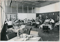 Apartheid-era whites-only restaurant at D.F. Malan Airport, Cape Town, in the 1970s