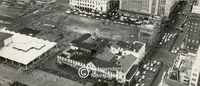 Aerial view of the old station in Cape Town, Cape Town
