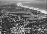 Aerial view of the Rietvlei area, Cape Town