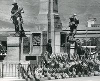 Annual war memorial ceremony, Cape Town