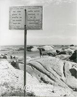 Apartheid signage, Cape Town