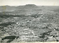 Aerial view of northern suburbs, Cape Town