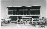 Apartheid-era public swimming pool, Bellville, Cape Town
