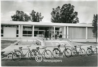 Apartheid-era public library at Bellville, Cape Town