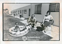 Apartheid-era White housing development, Bellville,Cape Town