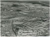 Aerial view of Cape Flats, Cape Town