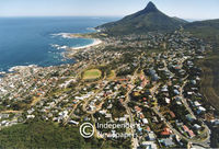 Aerial view, Camps Bay, Cape Town