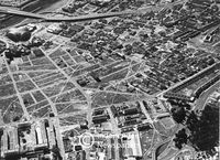 Aerial view, District Six, Cape Town