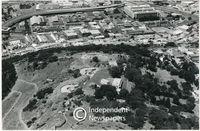 Aerial view, Signal Hill, Cape Town