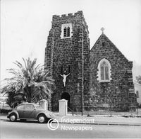 Anglican church of St Mary, The Virgin, Woodstock, Cape Town, 1984