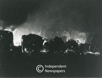 60 Shacks burned down in Crossroads, Cape Town