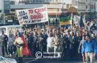 Anti-drug protests