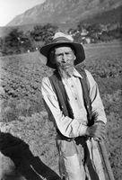 Elderly farm worker, Genadendal, South Africa
