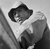 Portrait of a man, Genadendal, South Africa