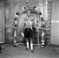 Studio portrait of Zulu man