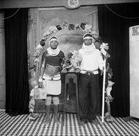 Portrait of Zulu couple