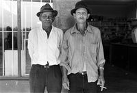 Owners of Endaweni Trading Store, Mangete, South Africa