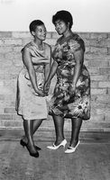 Two women at a formal event, Eastern Cape, South Africa