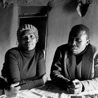 Couple in the Mai Mai hostel, Johannesburg, South Africa