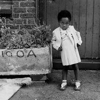 Child at the Mai Mai hostel, Johannesburg, South Africa