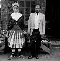 Couple at the Mai Mai Hostel, Johannesburg, South Africa