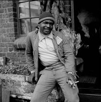 Man at Mai Mai market, Johannesburg, South Africa