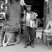 Healer at the Mai Mai market, Johannesburg, South Africa
