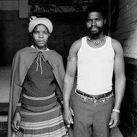 Couple holding hands, Mai Mai hostel, Johannesburg, South Africa