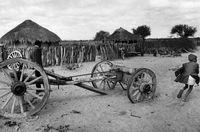 Rural scene from Botswana