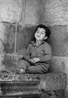 Little boy crying, Turkey