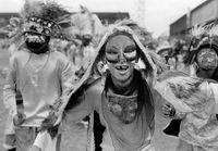 Mask parade, Mexico