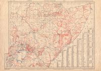 Tribal map of eastern Africa
