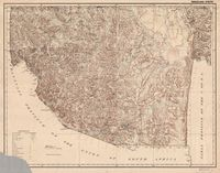 [Map of Swaziland]. Swaziland south