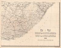 Map of the Union of South Africa, 1944 = Kaart van die Unie van Suid-Afrika. [Sheet 4 of 4]