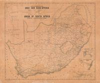 Posverbindings : Unie Van Suid-Afrika = Union of South Africa : postal communications