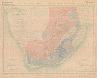 Prehistoriese rotstekeninge en =etse : Unie van Suid-Afrika = Prehostoric rock paintings and engravings : Union of South Africa