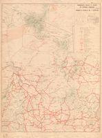 Principales routes et pistes de L'Afrique Français