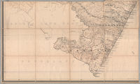 Map of the colony of Natal. South Coast