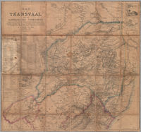 Map of the Transvaal and the surrounding territories