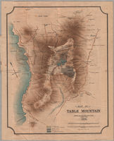 Map of Table Mountain--[cartographic material].